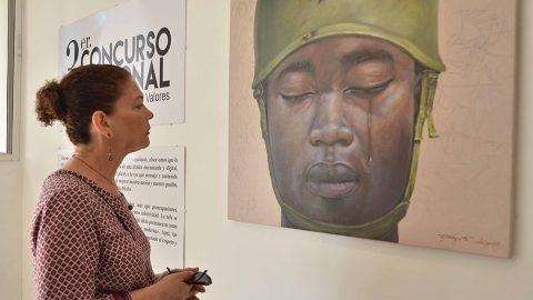 Como parte de las actividades conmemorativas al Día Internacional de la Mujer, la Biblioteca Infantil y Juvenil República Dominicana (BIJRD) exhibe durante este mes la exposición itinerante del Tercer Concurso Nacional de Pintura Joven por los Valores. (Foto de archivo).