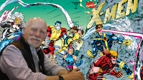 Escritor Chris Claremont, creador de los modernos X-Men.